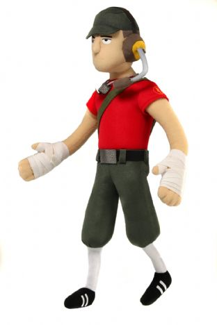 Team Fortress 2 'The Scout' Plush